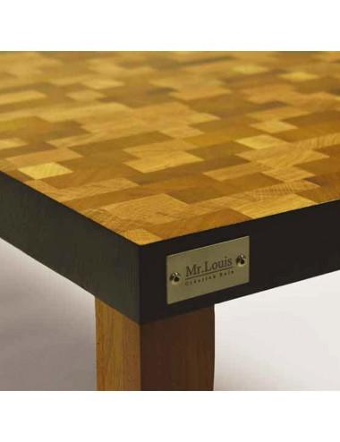 """Table basse """"Les Camaïeux..."""